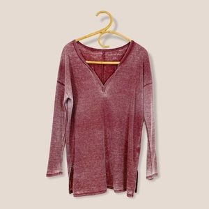 American Eagle | Waffle Knit Thermal Pullover